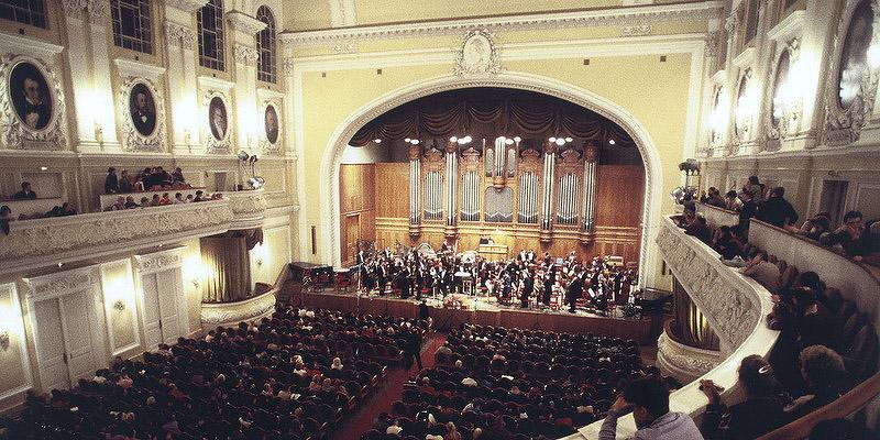Norbert Moret: Hymnes de Silence – Orchestre Symphonique d'Etat de Russie – Moscou – Conservatoire